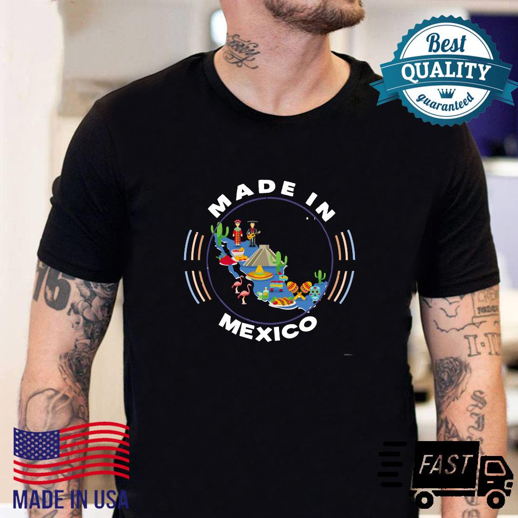 Made in Mexico Vintage Mexico Map by ASJ Shirt sweater