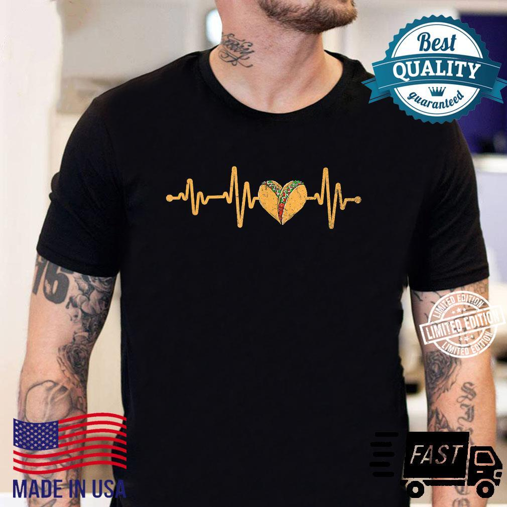 Mexican Cuisine Heartbeat Taqueria Tacos Mexico Foodie Taco Shirt sweater